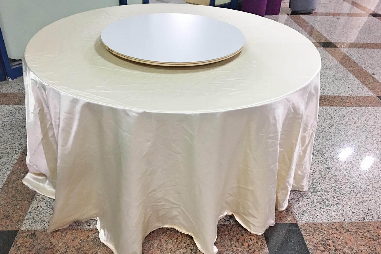 中式圓桌(含轉盤)