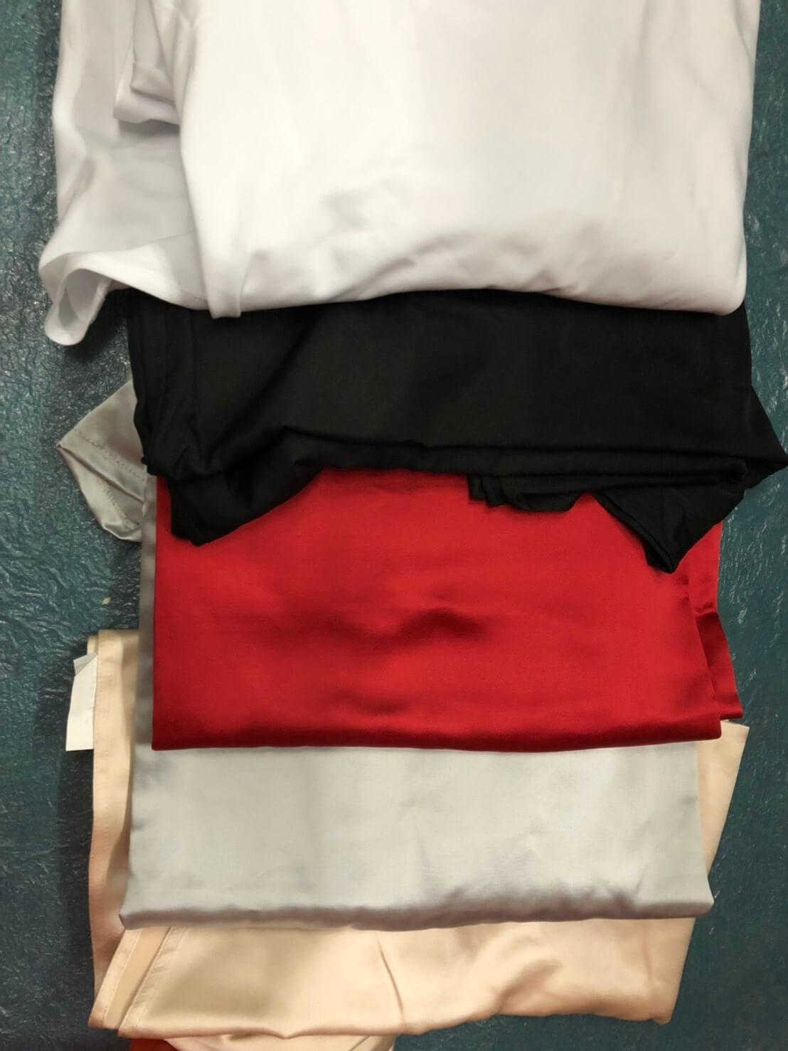 會議桌桌套(黑/白/米白/銀/紅)