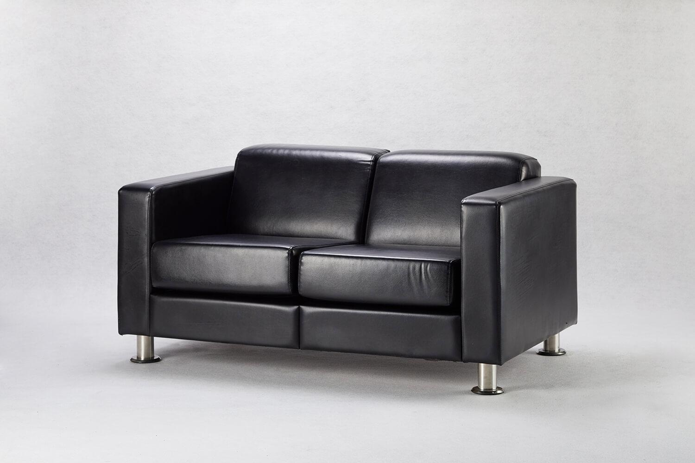 黑人雙人沙發 / 方形