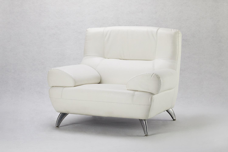 白色單人沙發