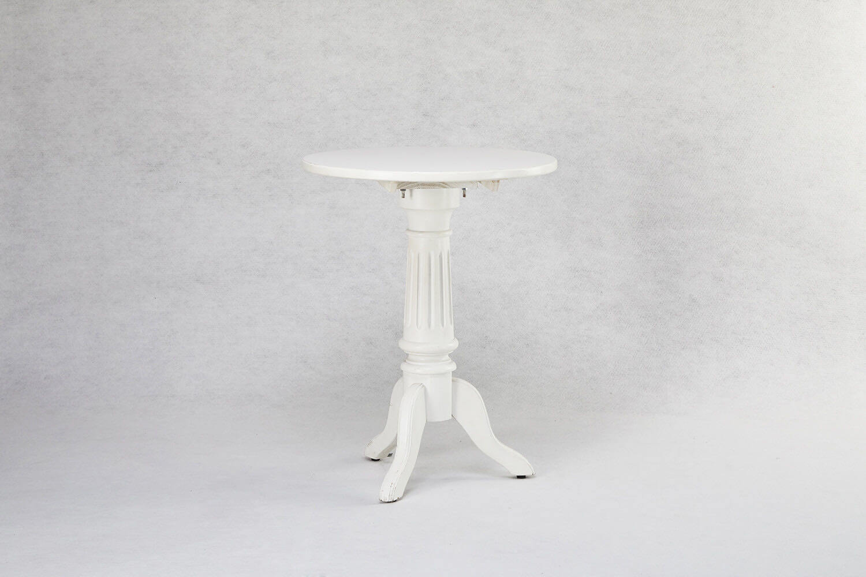 古典圓桌(白色)