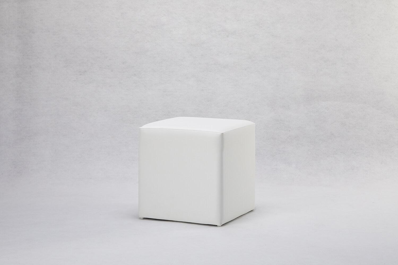 皮面單人吐司椅(白/黑/銀)