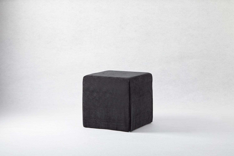 單人吐司椅(絨布黑)