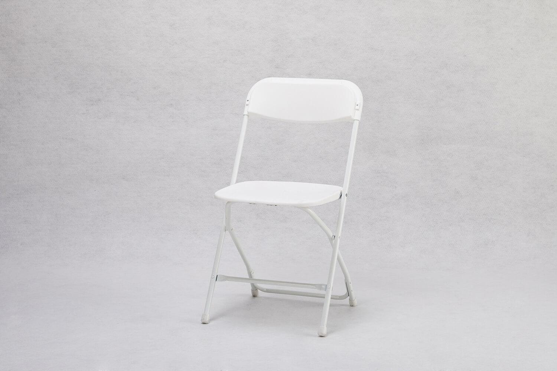 摺疊椅(白色)