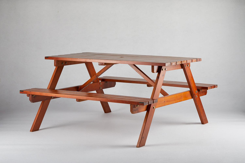 原木啤酒桌