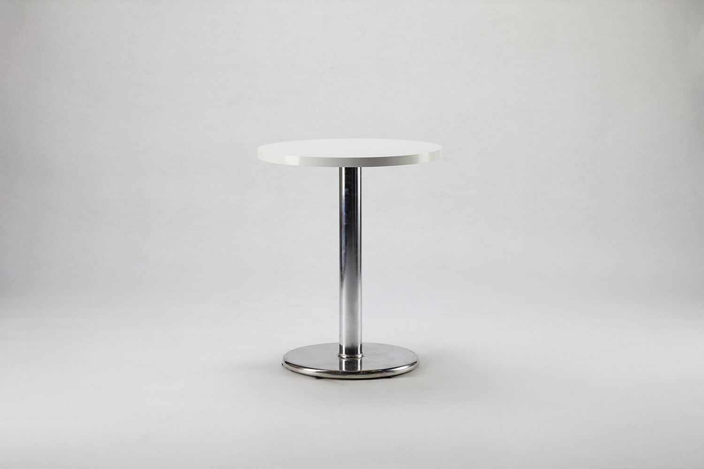 木製圓桌(白色)