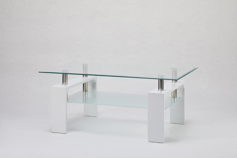 方型玻璃大茶几