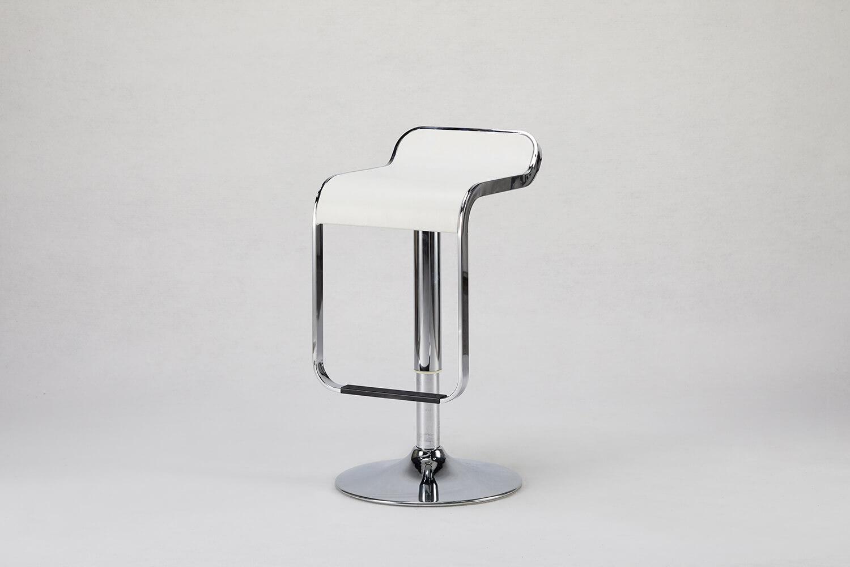 方形高吧椅(白)