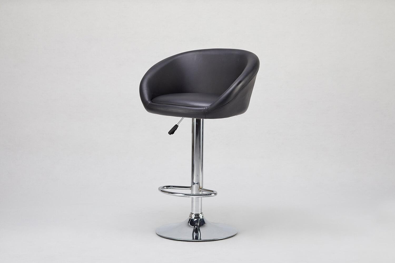 高背高吧椅(黑色)