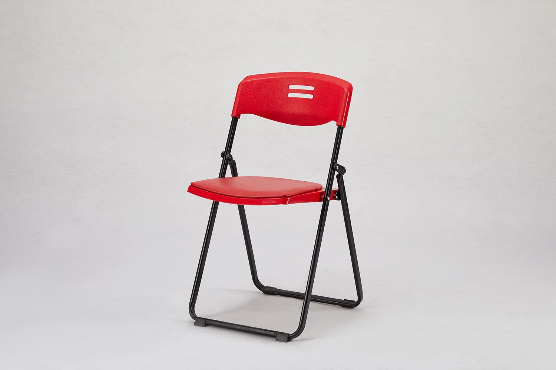 摺疊椅(紅色)