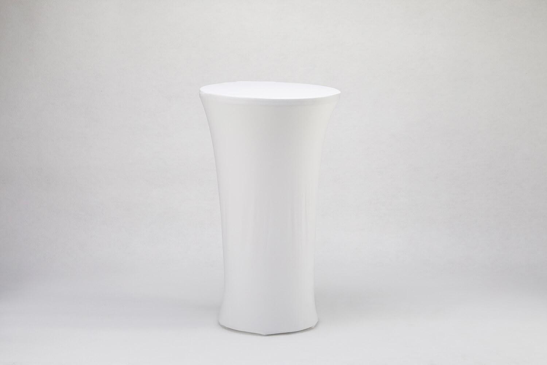 高吧桌彈性桌巾(白)