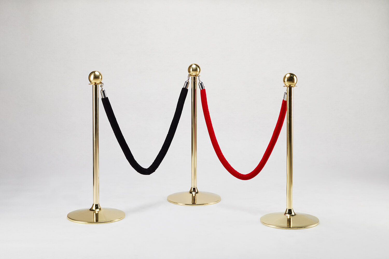 金色掛式圍欄(黑/紅)