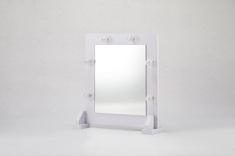 桌上型化妝鏡(附燈)