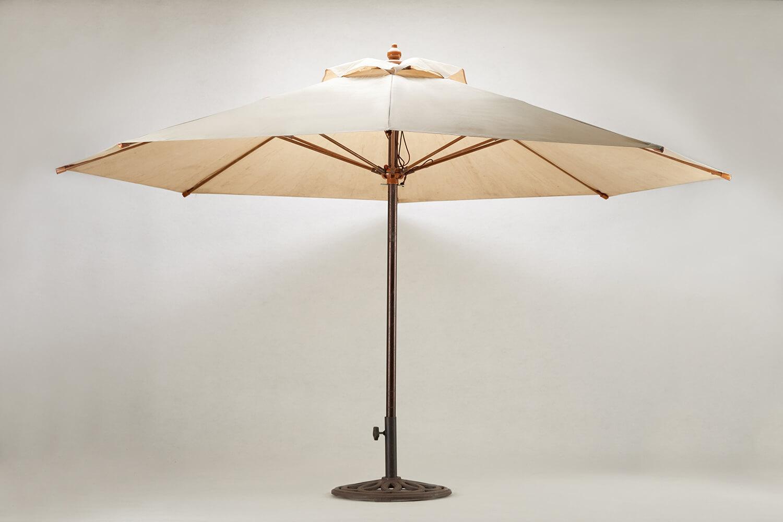 休閒傘(米白)