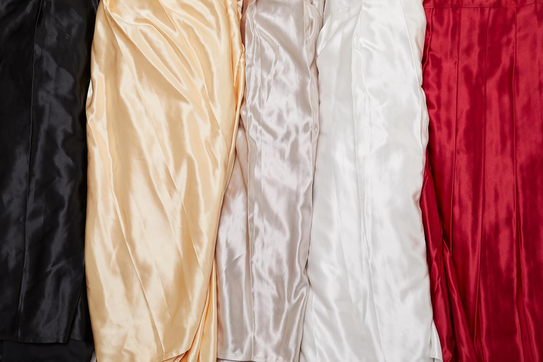 會議桌桌裙(黑/白/米白/紅)