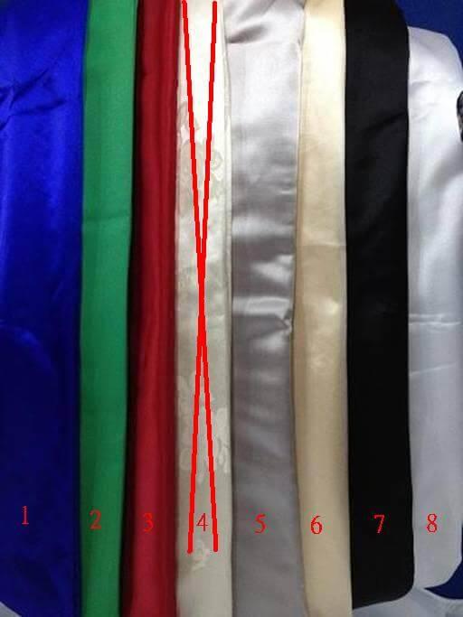 會議桌桌巾(藍/綠/紅/灰/米白/黑/白)