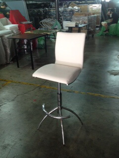 高背高吧椅(白色)